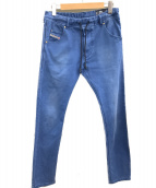 DIESEL(ディーゼル)の古着「イージーパンツ」 ブルー