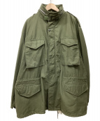 VINTAGE(ヴィンテージ)の古着「[古着]60sヴィンテージ2stM65ジャケット」|オリーブ