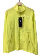 DESCENTE(デサント)の古着「スクリームラインジャケット」 イエロー