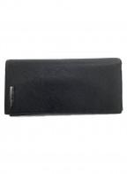 ARMANI JEANS(アルマーニジーンズ)の古着「長財布」|ブラック