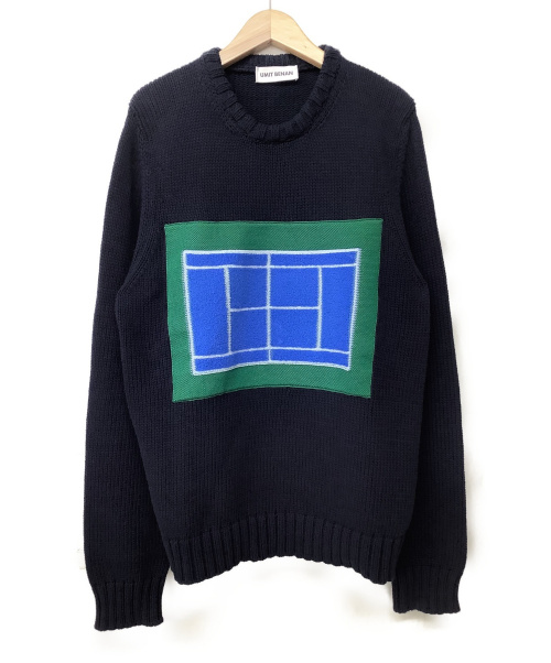 UMIT BENAN(ウミットベナン)UMIT BENAN (ウミットベナン) ニット ネイビー サイズ:XSの古着・服飾アイテム