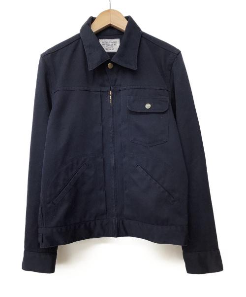 WACKO MARIA(ワコマリア)WACKO MARIA (ワコマリア) ジップアップジャケット ネイビー サイズ:Sの古着・服飾アイテム