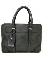 GANZO(ガンゾ)の古着「ビジネストートバッグ」|ダークグリーン