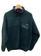 Patagonia(パタゴニア)の古着「シンチラスナップTフリースジャケット」|グリーン