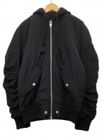 DIESEL(ディーゼル)の古着「ボンバージャケット」 ブラック