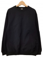 BEST PACK(ベストパック)の古着「ナイロンスウェットプルオーバー」|ブラック