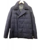 STORMSEAL(ストームシール)の古着「ウールダウンPコート」|ネイビー