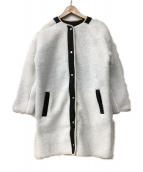 adidas(アディダス)の古着「ボアジャケット」 ホワイト