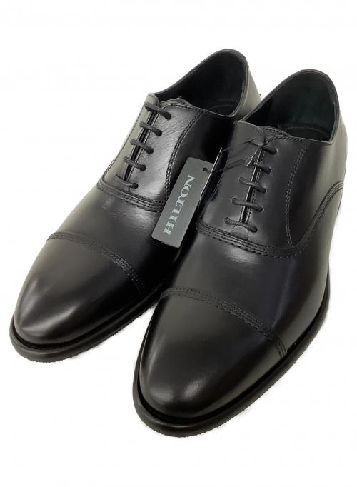Hilton(ヒルトン)Hilton (ヒルトン) ビジネスシューズ ブラック サイズ:42の古着・服飾アイテム