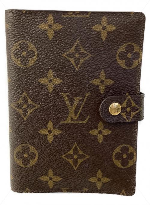 LOUIS VUITTON(ルイ ヴィトン)LOUIS VUITTON (ルイヴィトン) 手帳カバー ブラウン モノグラム R20005 SP1015の古着・服飾アイテム