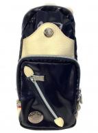 Orobianco(オロビアンコ)の古着「ボディーバッグ」|ネイビー×ホワイト