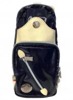 Orobianco()の古着「ボディーバッグ」|ネイビー×ホワイト