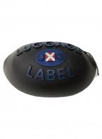 LUGGAGE LABEL(ラゲッジ レーベル)の古着「ロゴ入ラバーバッグ」|ブラック
