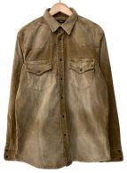 DIESEL(ディーゼル)の古着「コーデュロイシャツ」|ベージュ