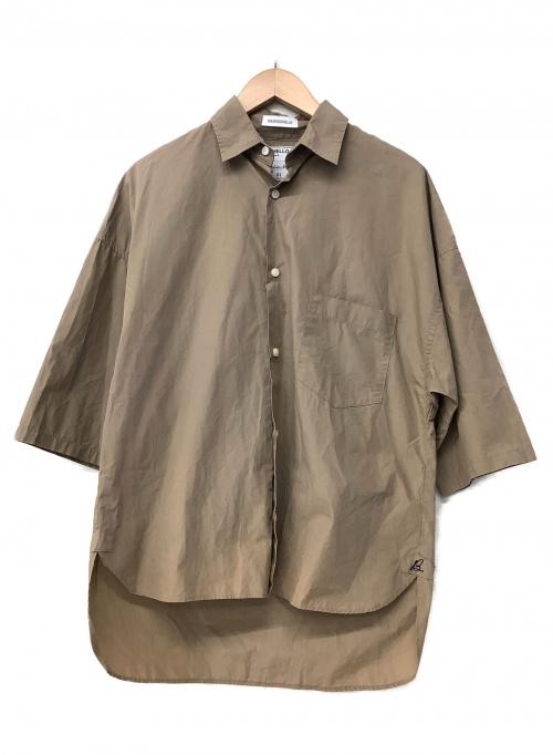 MADISON BLUE(マディソンブルー)MADISON BLUE (マディソンブルー) オーバーサイズシャツ ベージュ サイズ:Sの古着・服飾アイテム