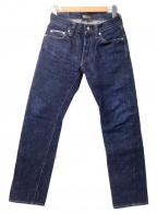 SAMURAI JEANS(サムライジーンズ)の古着「21ozデニムパンツ」 ブルー