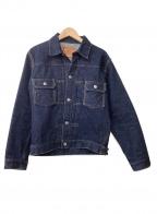 SAMURAI JEANS(サムライジーンズ)の古着「16ozデニムジャケット」 ブルー