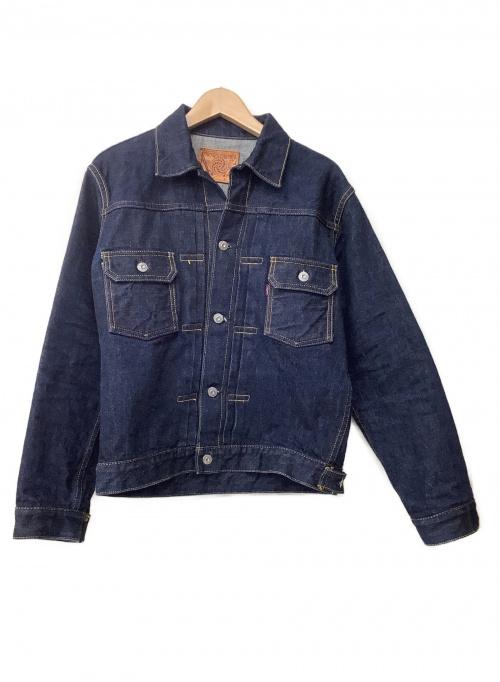 SAMURAI JEANS(サムライジーンズ)SAMURAI JEANS (サムライジーンズ) 16ozデニムジャケット ブルー サイズ:SIZE40の古着・服飾アイテム