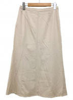 BURBERRY LONDON()の古着「ロングスカート」|ベージュ
