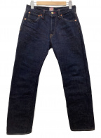 SAMURAI JEANS(サムライジーンズ)の古着「デニムパンツ」 ネイビー