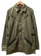 VICTORINOX(ビクトリノックス)の古着「ジップアップジャケット」 オリーブ