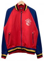 Hysteric Glamour(ヒステリックグラマー)の古着「トラックジャケット」|ブルー×レッド
