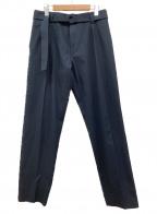 HUGO BOSS(ヒューゴ ボス)の古着「リラックスフィットパンツ」|ネイビー