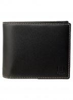 dunhill()の古着「2つ折り財布」 ブラック