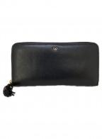 ANYA HINDMARCH(アニヤハインドマーチ)の古着「長財布」 ブラック