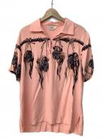 Star OF HOLLYWOOD(スターオブハリウッド)の古着「プルオーバーシャツ」|ピンク