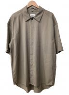 ()の古着「オーバーサイズシャツ」|ベージュ