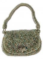 ANTEPRIMA(アンテプリマ)の古着「ハンドバッグ」|シルバー×ブルー