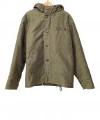 TOYS MCCOY(トイズマッコイ)の古着「N-1フードコート」|オリーブ