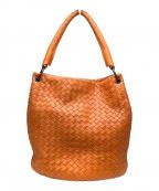 BOTTEGA VENETA()の古着「ハンドバッグ」|オレンジ