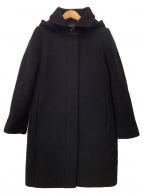 ()の古着「フーデッドコート」 ブラック