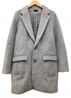 ()の古着「チェスターコート」 グレー