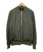 DIESEL(ディーゼル)の古着「MA-1ジャケット」 グリーン