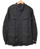 ()の古着「リネンMIXジャケット」 ブラック