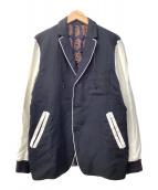 ()の古着「テラードジャケット」 ブラック