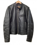 HARLEY-DAVIDSON(ハーレーダビットソン)の古着「レザージャケット」|ブラック