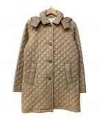 Traditional Weatherwear()の古着「キルティングコート」 ベージュ