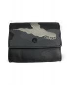 COACH(コーチ)の古着「パスケース」|グレー