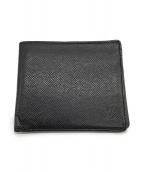 LOUIS VUITTON(ルイヴィトン)の古着「2つ折り財布」 ブラック