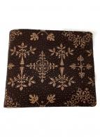 印傳屋(インデンヤ)の古着「札入れ」|ブラウン