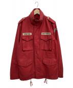 WACKO MARIA(ワコマリア)の古着「ジャケット」|レッド