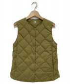 THE NORTH FACE(ザノースフェイス)の古着「Vintage Comfort Zepher Vest」|カーキ