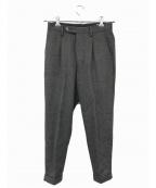COMOLI()の古着「ウールパンツ」|グレー