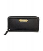 Samantha Thavasa PETIT CHOICE(サマンサタバサプチチョイス)の古着「長財布」|ブラック