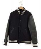 GB SPORT(ゴールデンベアスポーツ)の古着「スタジャン」 ブラック
