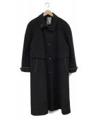 YOUR SIXTH SENSE(ユアシックススセンス)の古着「ウールコート」|ブラック